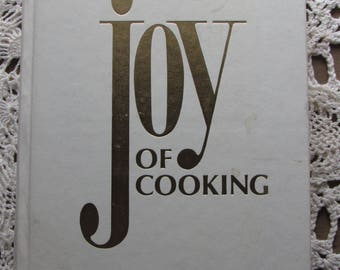 1981, Joy Of Cooking Cookbook, Hardcover, Lots of Good Recipes!