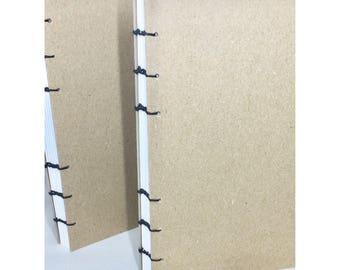 Blank Coptic Bound Journal Heavyweight Paper