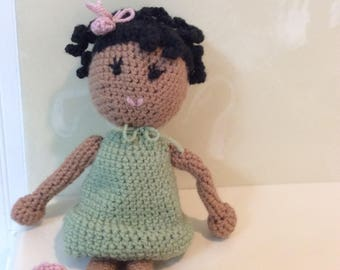 African American Crochet Dolls
