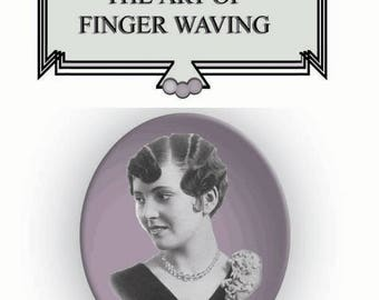 20s 30s Flapper Hair,  FINGER WAVE Hair, 1920s Dress,  Miss Fishers Murder Mysteries, Downton Abbey