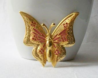 Vintage Butterfly Brooch, Vintage Butterfly Jewelry