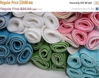 On Sale 30 fleece diaper liners - U pick Color