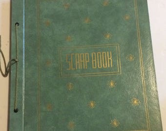 Vintage Scrapbook Album planes trains automobiles war cars