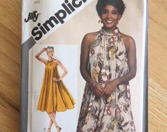 Simplicity 9901 Summer Tent Dress Pattern - Size 10-12