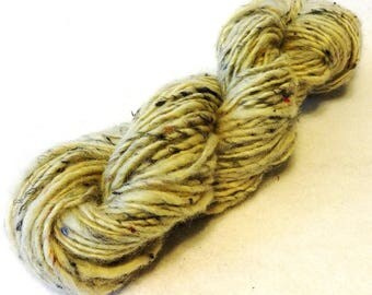 Stash Sale, Handspun Wool Yarn, Wool Yarn, Sale Yarn, Off White Wool Yarn, Hanspun, Worsted Weight Yarn - Stash Sale #10