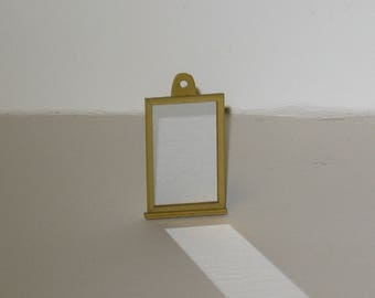Shaker Mirror for your dollhouse