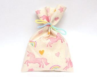 UNICORN Favour Bags - Unicorn party bags, rainbow unicorn, unicorn party, unicorn theme, unicorn favours, rainbow unicorn bags x 10