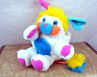 Vintage 1980s Mini Popple Stuffed Toy