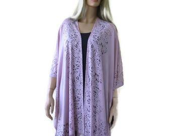 Powder pink-Pale Pink Kimono-Light pink Lace Kimono -Pale pink-powder pink kimono jacket-kimono cardigan-Oversize kimono
