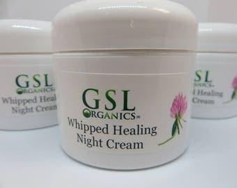 Whipped Healing Night Cream - Anti Aging & Rosacea