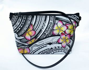 Keahi Raikes Plumeria crossbody bag