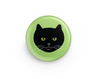 Feral Cat Button - Officer Tom