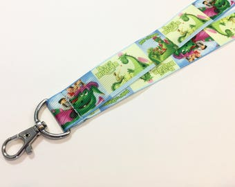 Pete's Dragon ID Lanyard with a Lobster Claw ID Clip