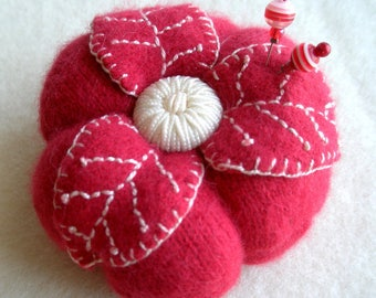 Soft Cashmere Pincushion, 15 colors to choose from!- Made to Order