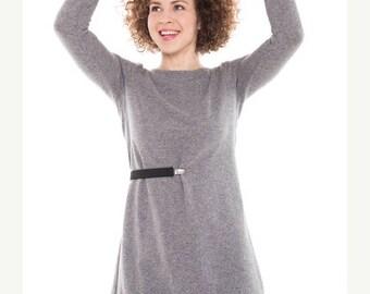 SALE - Day dress | Adjustable dress | Gray wool dress | LeMuse day dress