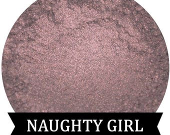 Smoky Purple Mineral Eyeshadow Pigment NAUGHTY GIRL