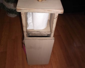 Primitive Toilet paper holder