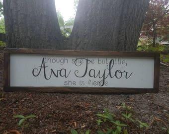 Custom Name Sign by DavisDesignMarket