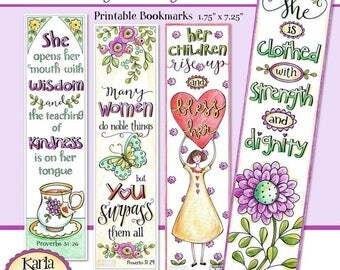 40 OFF CHRISTMAS SALE Luke 10 13 Color Your Own Bookmarks