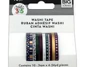 Happy Planner Mini Washi Tape Jewel Tones (10 rolls) Me & My Big Ideas (WTSS-05)