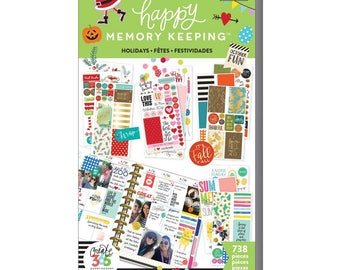 Seasons & Holidays Big Happy Memory Keeping Sticker Value Packs (738/Pkg) Me and My Big Ideas (PPSV-27-3048)