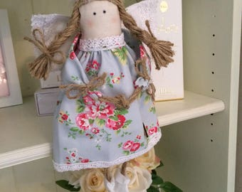 Angel Belle Doll Handmade With Cath Kidston Fabric