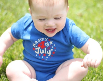 4th of July Shirt Boy, Happy 4th of July, Independence Day, July 4th, 1st 4th of July shirt,  onesie or shirt