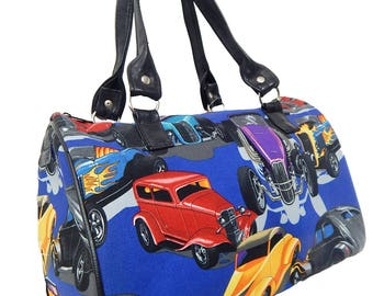 "USA Handmade Handbag Doctor bag With ""CHOPTOP"" Pattern Satchel Style Pattern,  New"