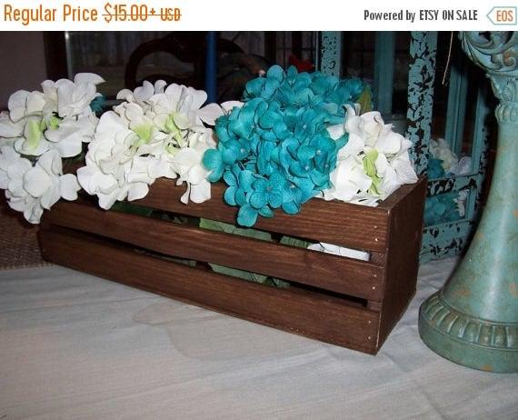 Gotcha sale wooden crates wedding centerpieces rustic