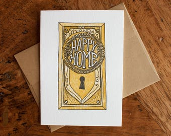 Your New and Happy Home - Card