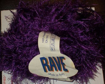 Rave Yarn PURPLE Made in Italy