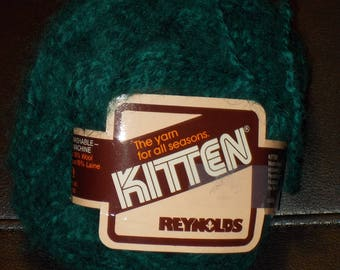 Kitten Yarn by Reynolds Teal