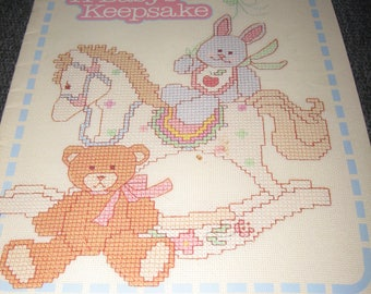 A Baby's Keepsake - Counted Cross Stitch