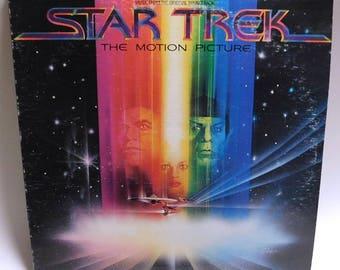 Star Trek The Motion Picture Soundtrack - Vintage Vinyl Record Album 1979 Columbia JS 36334 VG+/EXC