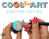 Special Reserved Listing - A custom COOLISART creation made just for you, somewebpixels