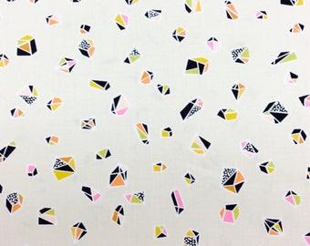 Intermix by Erin McMorris - Free Spirit - Helix - Ivory - 1/2 yard