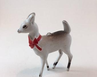 Vintage Plastic Reindeer