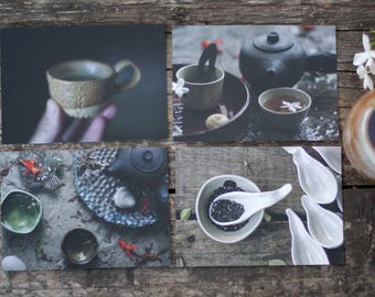 Tea lover post cards
