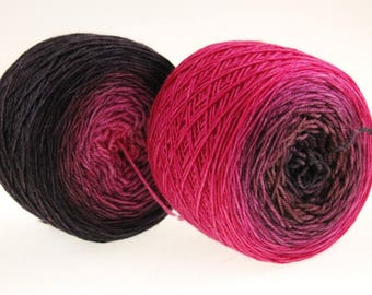 Fingering Weight Ombre Babylon Nights Gradient- 510 yards - Pick your Base