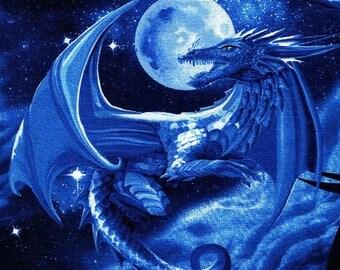 Midnight Dragons - Timeless Treasures - Fat Quarter