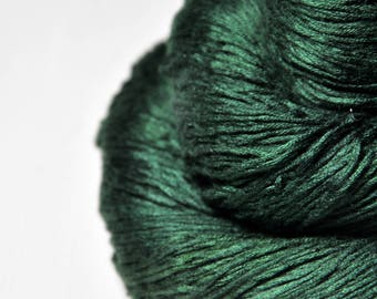 Lost in the forest - Fleece Silk Lace Yarn - LIMITED EDITION