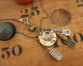 Bill & Ted's Adventure Inspired Charm Necklace