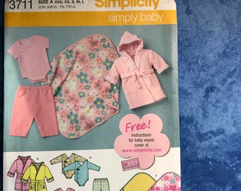 Baby Pattern and set of 4 Baby Soft Shoe Kits