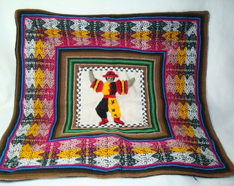 Peruvian  Wool Hand Embroidered  Pillow Cover.