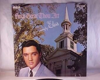 Elvis Presley - 33 LP - How Great Thou Art