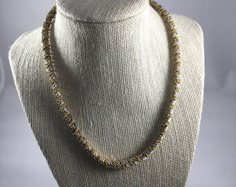 Vintage Silver and Gold Necklace