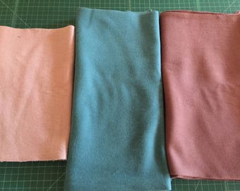 Scrap Pack - Organic Fleece Fabric