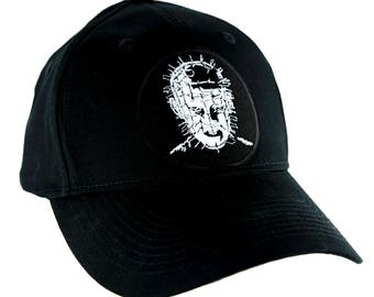 Hellraiser Pinhead Hat Baseball Cap Occult Clothing Horror Movie Clive Barker - YDS-EMPA-010-CAP