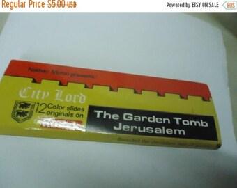 Ephemera & Books 50% Sale Vintage The Garden Tomb Jerusalem 12 Color Slides Printed On Kodak Film by Jerusalem, collectable