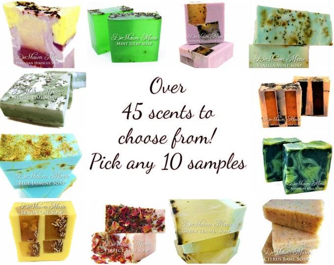 10 Soap Samples
